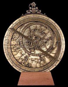 astrolabe compass sextant planispheric astrolabe l h v 20 h misferium accoutrement. Black Bedroom Furniture Sets. Home Design Ideas