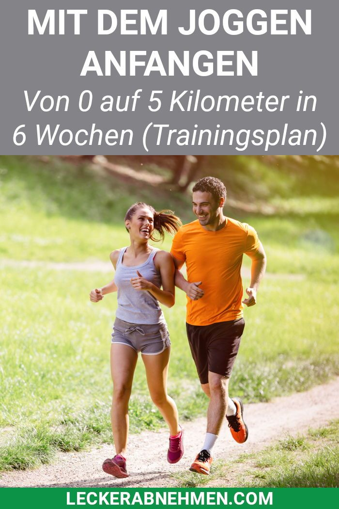 Photo of Start running: from 0 to 5 kilometers in 6 weeks [mit Trainingsplan]