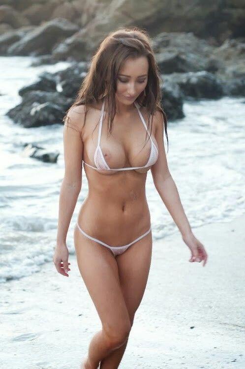 a naked skinny girl