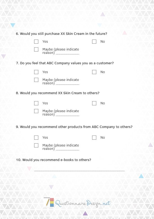 http\/\/wwwquestionnairedesignnet\/our-questionnaire-service - sample customer satisfaction survey