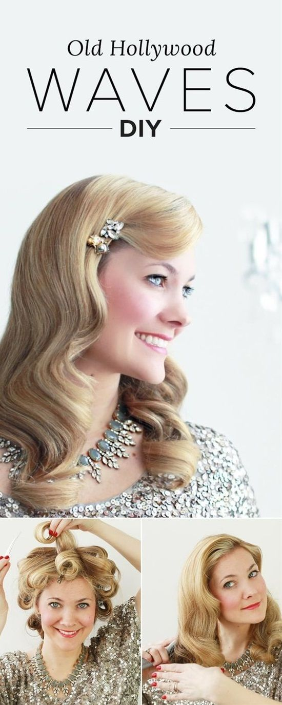15 Easy Last-Minute New Year's Eve Hairstyle Tutorials for ...
