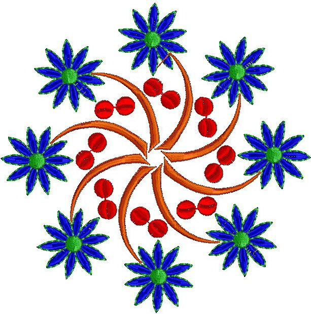 Ornament Embroidery Design 297 Free Embroidery Designs Download