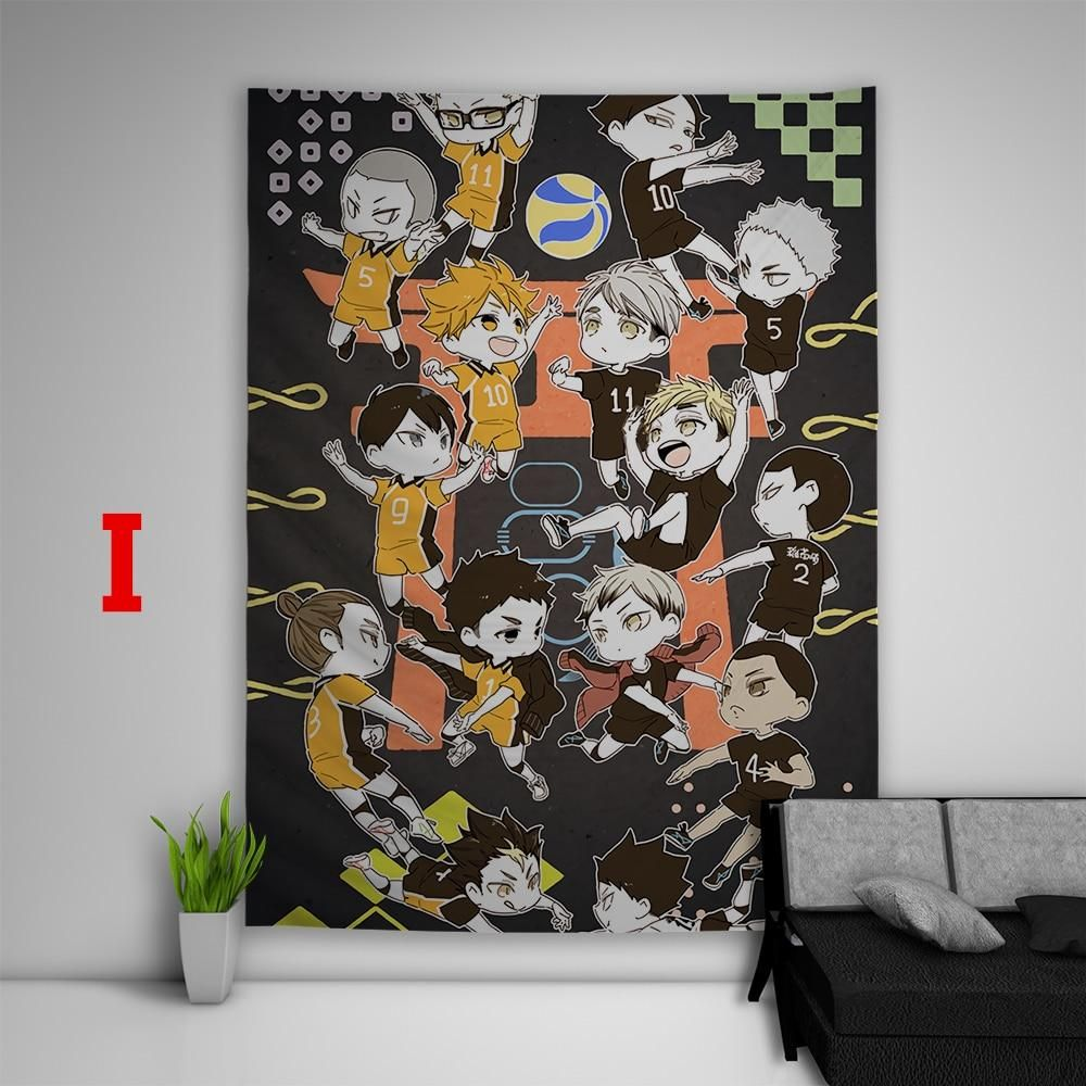 Photo of Best Selling Haikyuu!! Tapestry Art Wall Hanging Sofa Table Bed Cover Home Decor Dorm Gift – I / 60X45inch150x113cm