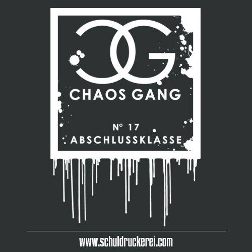 Chaos Gang Logo Ak18 Abschlussshirts Abschlusspullis