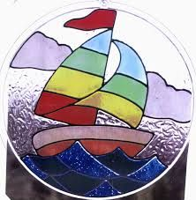 stained glass boat patterns - Google Search