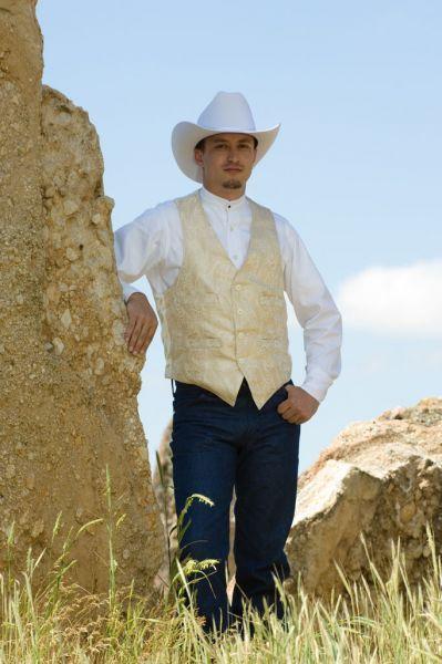 Western Wedding Vest For Bruce