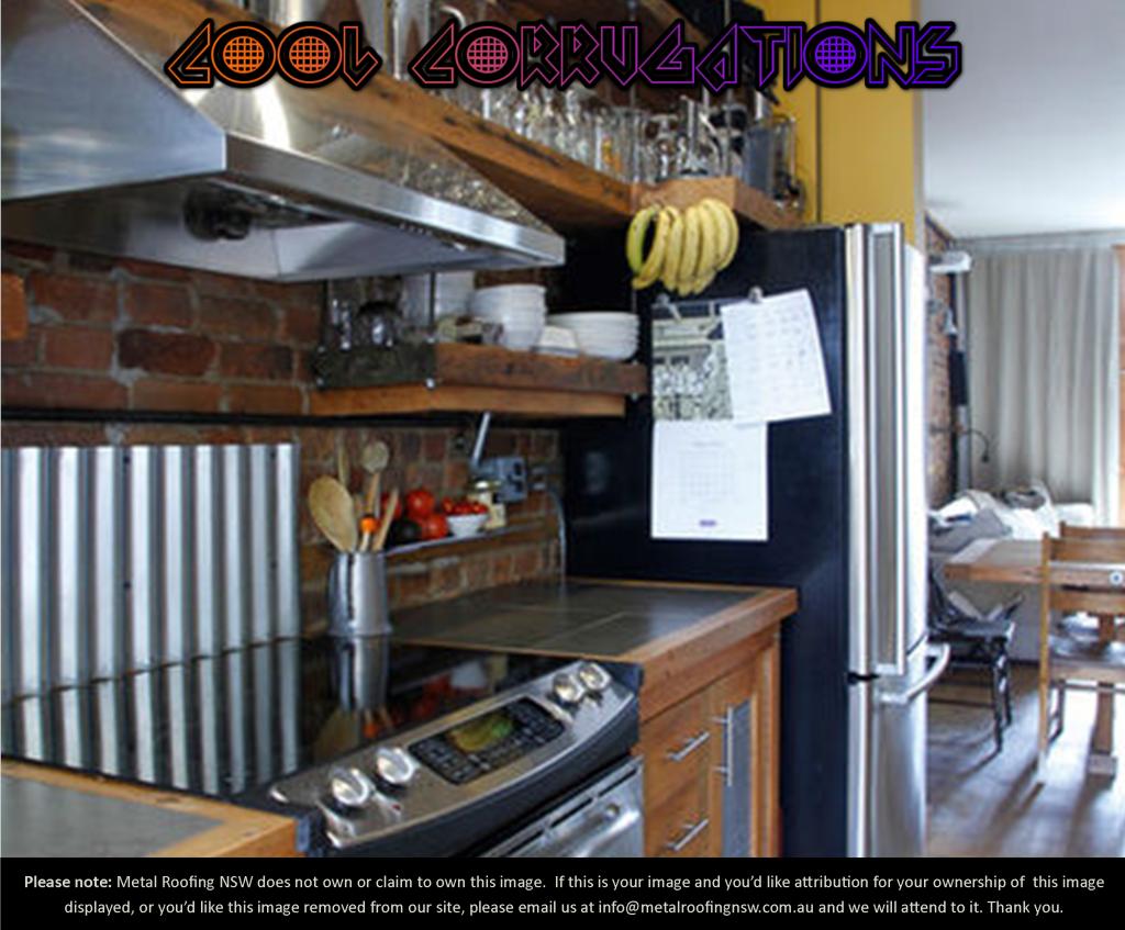 Images about corrugated metal on pinterest - Metal Roofing Nsw Decorator Ideas Diy Corrugated Iron Stove Backsplash Mrnsw