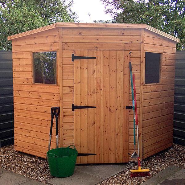 malvern bewdley corner shed