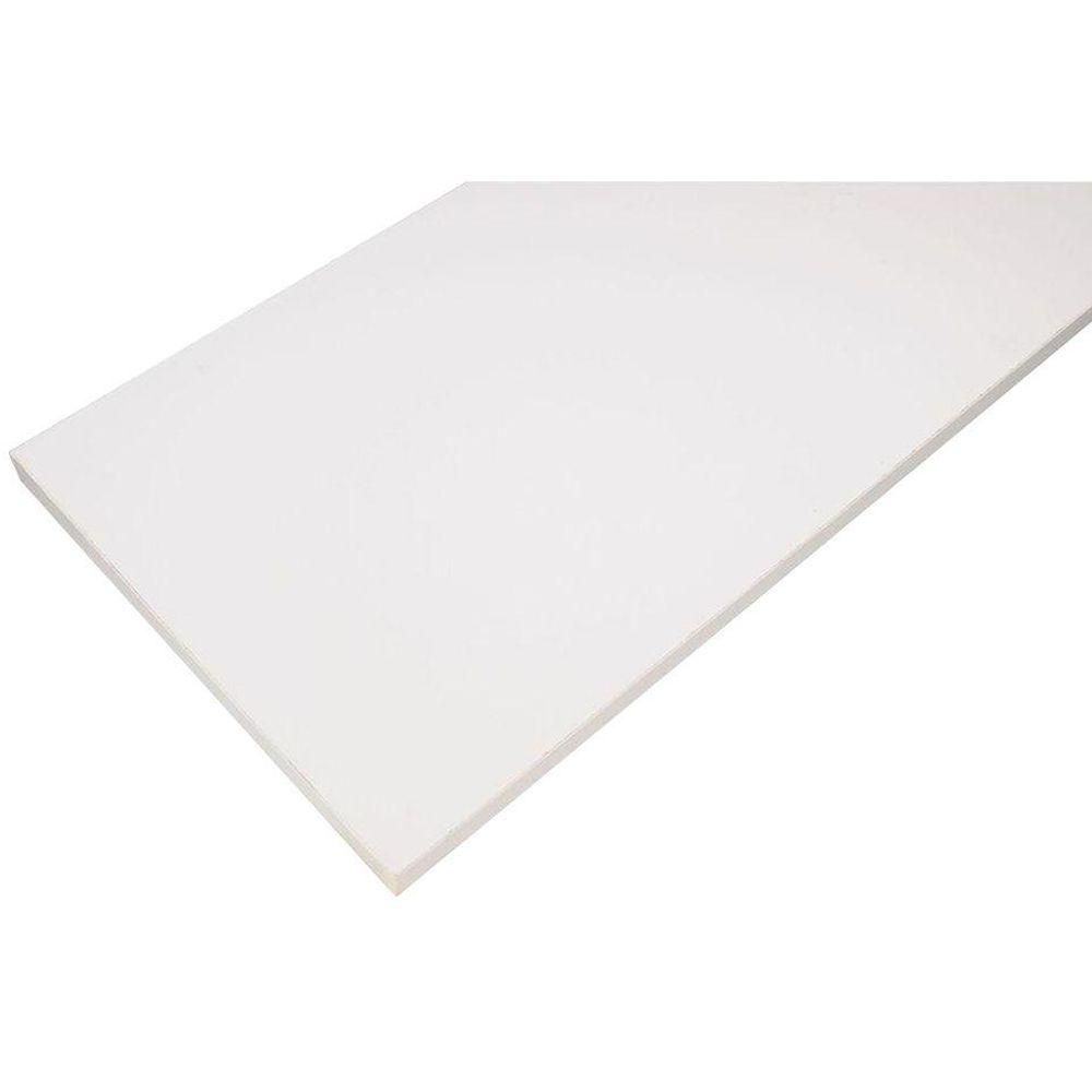 Rubbermaid 12 In X 72 In White Laminated Wood Shelf Fg4b8200wht