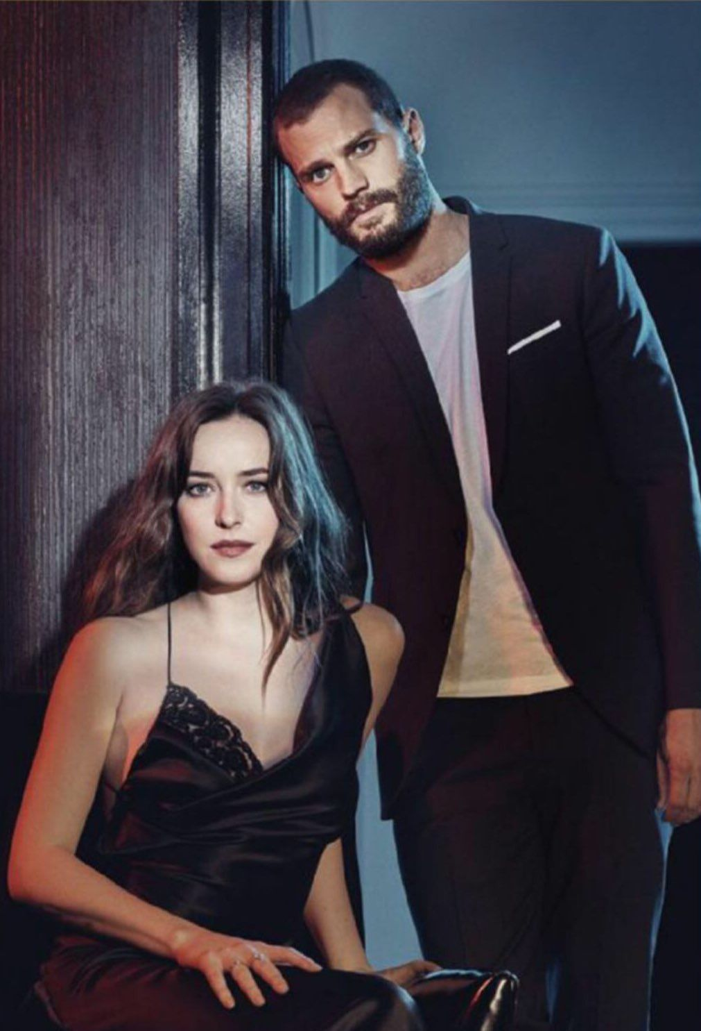 Pictures Of Dakota And Jamie For A Fifty Shades Freed Photoshoot