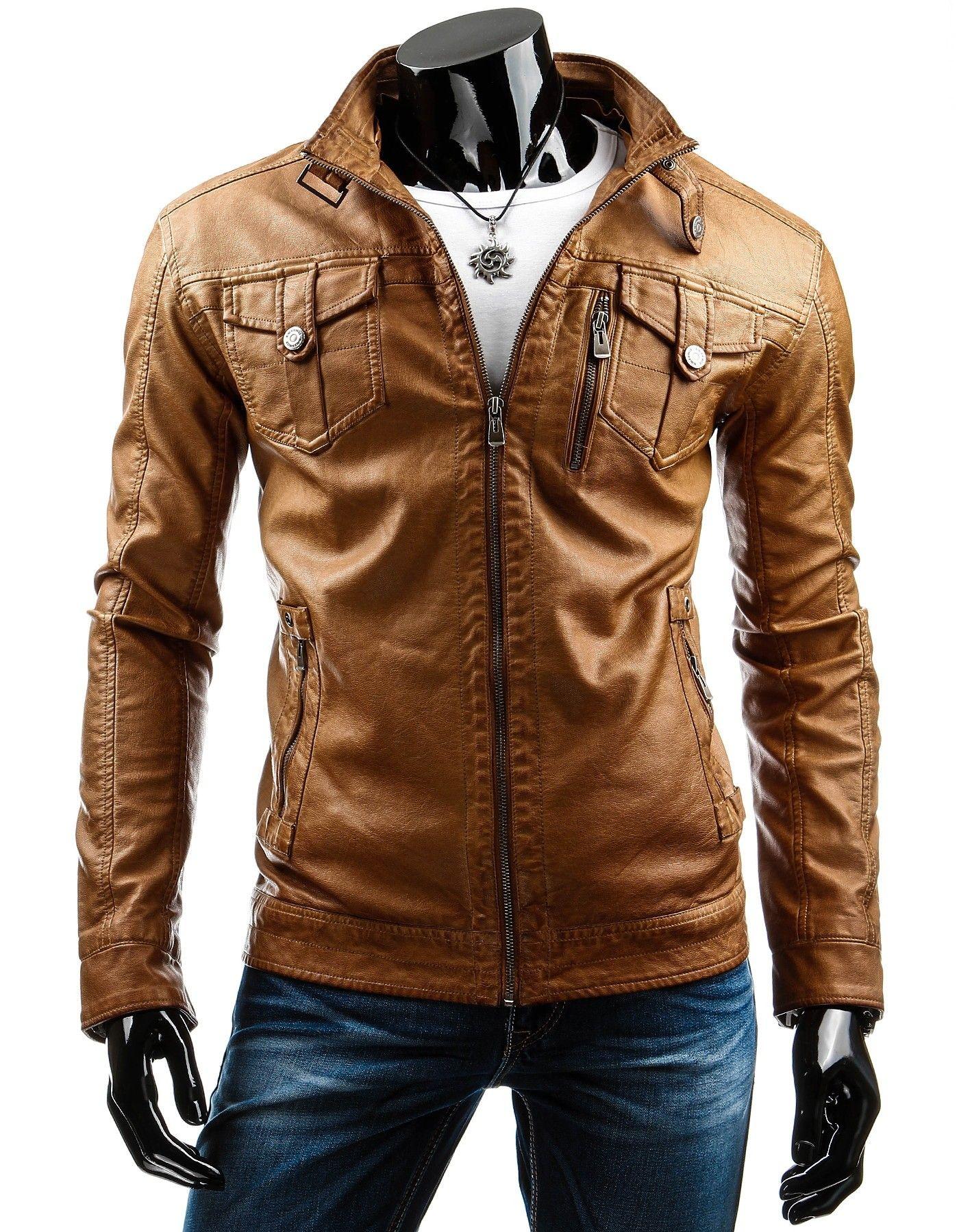 Shirt Style, Casual Chic, Leather Jacket, Men Shirt, Fashion Men, Farmer 853dd6ad970
