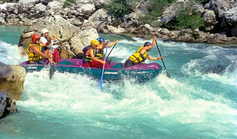 Rafting in wild rivers of Greece