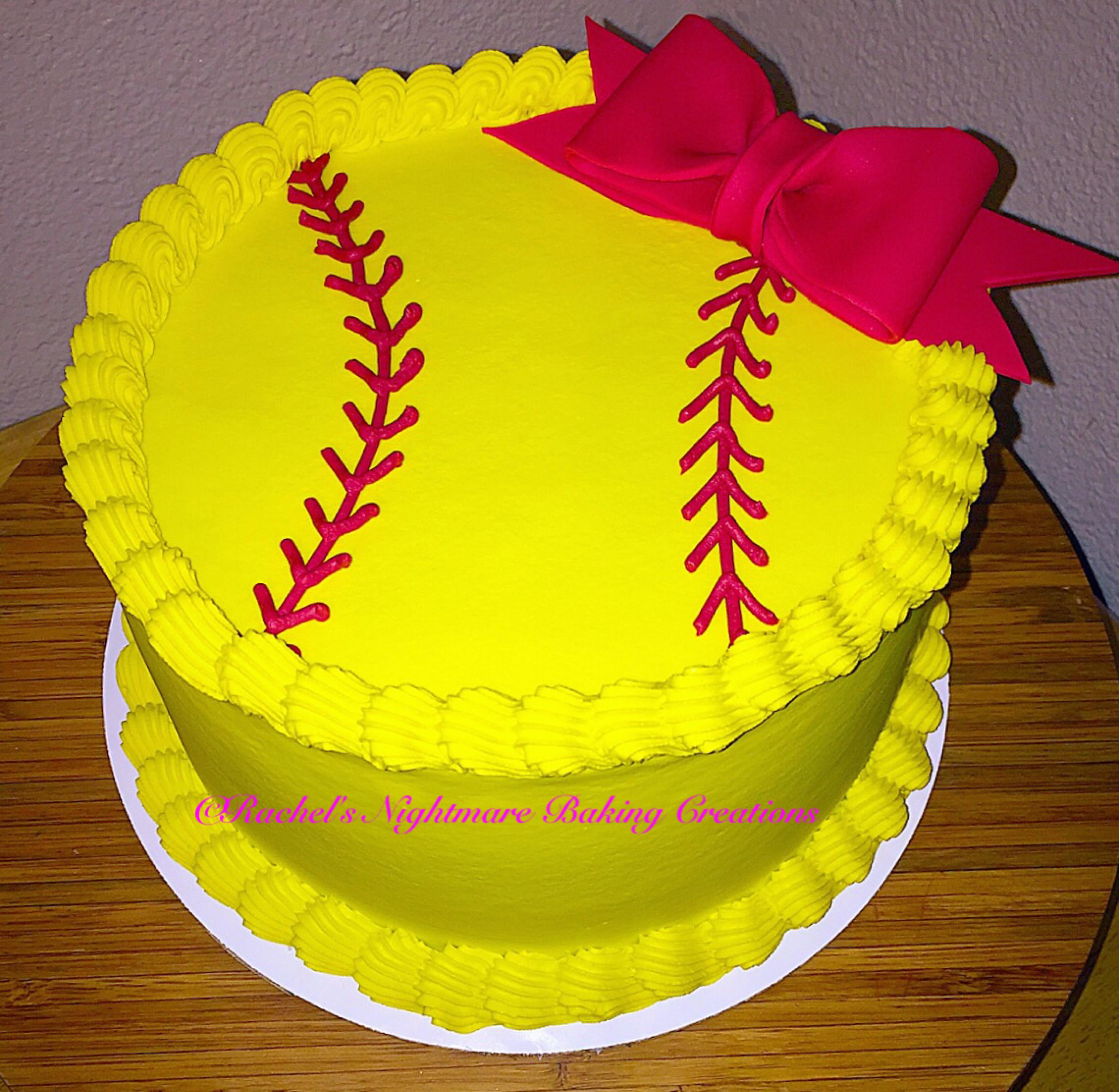 Prime Softball Princess Birthday Cake Laramie Personalised Birthday Cards Paralily Jamesorg