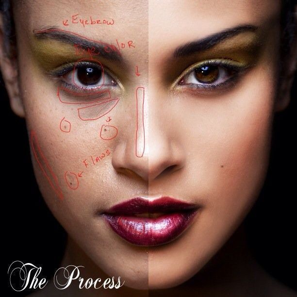 photoshop retouching process #RetouchingTutorial # ...
