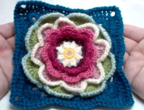 Ergahandmade Crochet Motif Granny Square 6 Videos How Tos