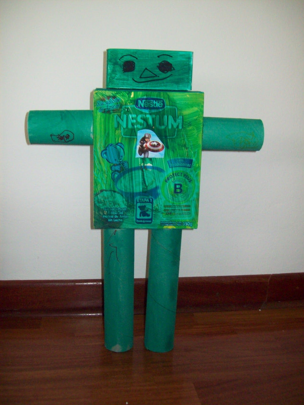 robot para nios con materiales reciclados buscar con google