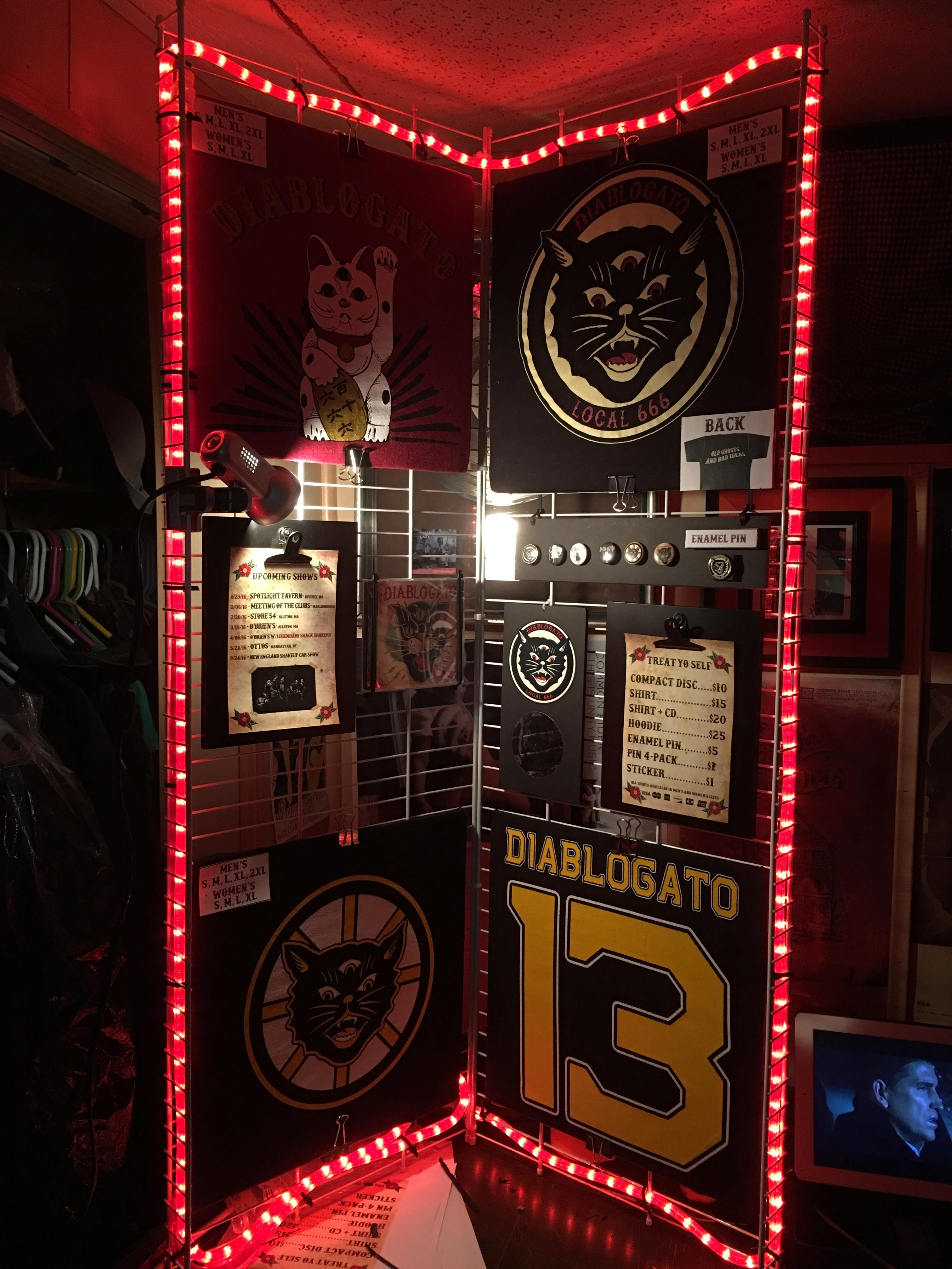 Built A New Merch Display For My Band