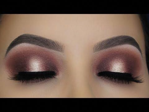 classic brown halo eye makeup tutorial  youtube
