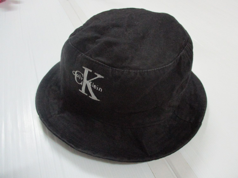 Vintage Bucket Hat cap Calvin Klein Black size M unisex by OHCHYVINTAGE on  Etsy 031f97837b4