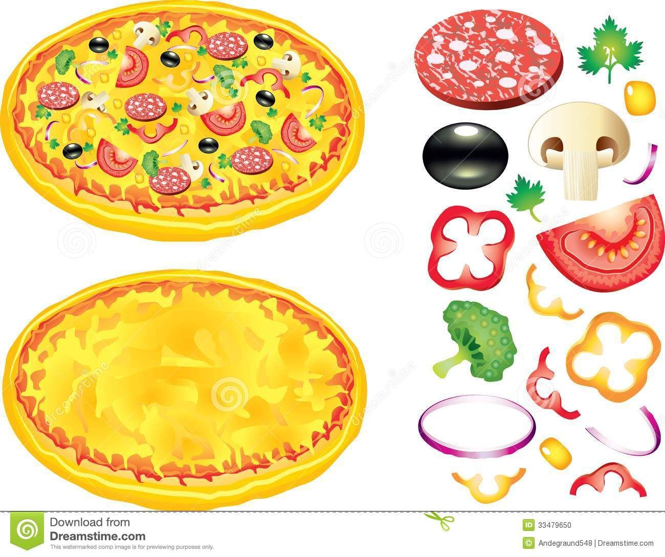 graphic about Printable Pizza Toppings named Pizza Toppings Clip Artwork Cost-free Printables Pizza, Pizza artwork