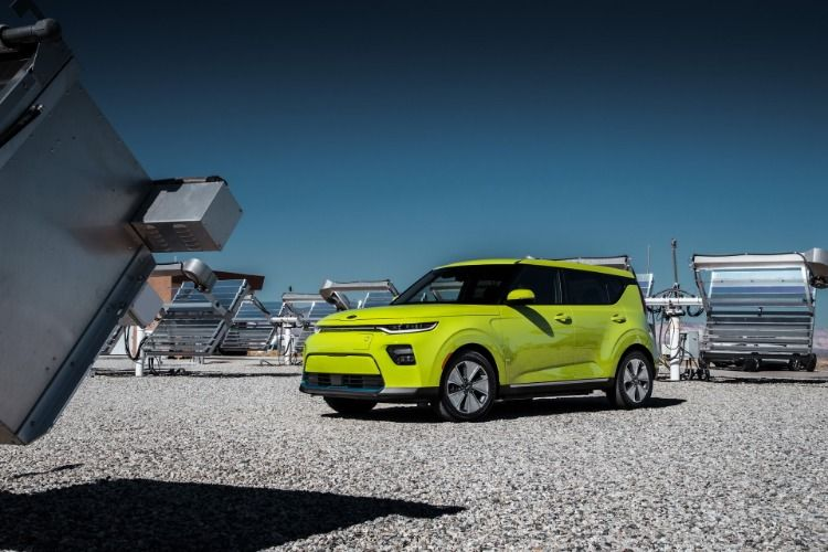 The New 2020 Kia Soul Ev Has A 243 Mile 391 Km Driving Range