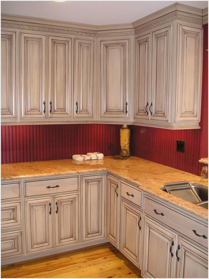 Photo of Kitchen Cabinet Glaze Colors – Glazed Taupe Kitchen Cabinets –   glazed taupe …