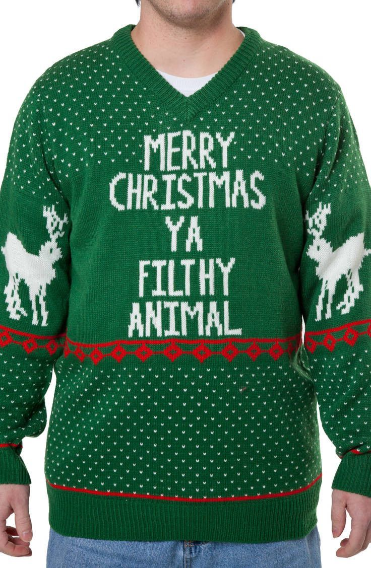 Home Alone Ugly Christmas Sweater: Home Alone Mens Sweaters