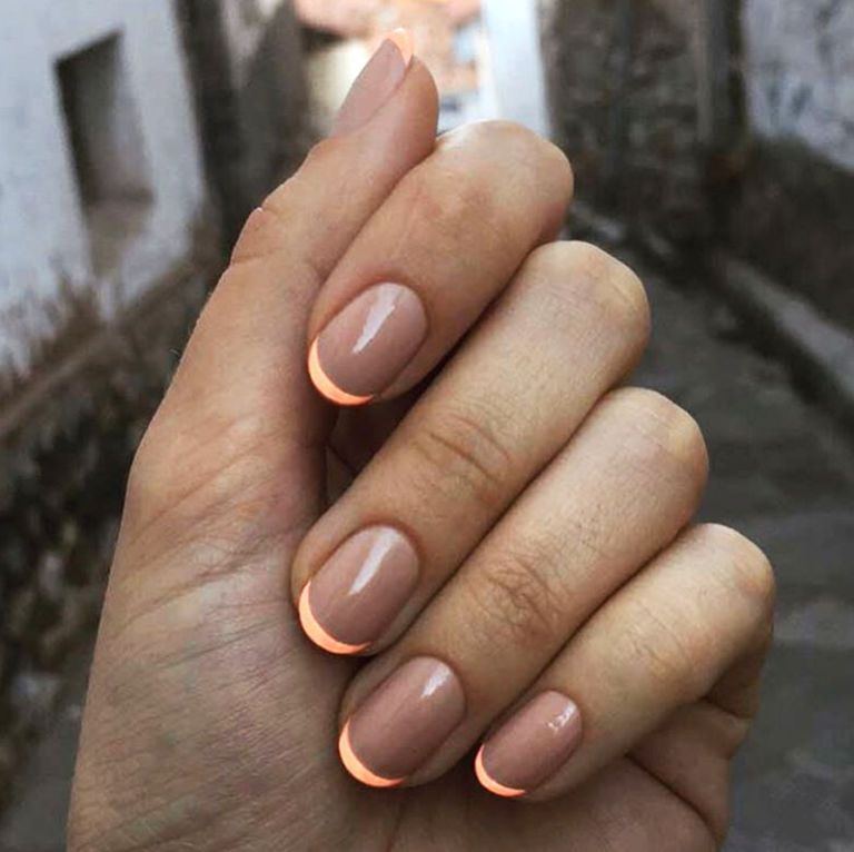 Spring Manicure Ideas You Re Going To Want To Copy Asap Trendy Nails Minimalist Nails Neon Nails