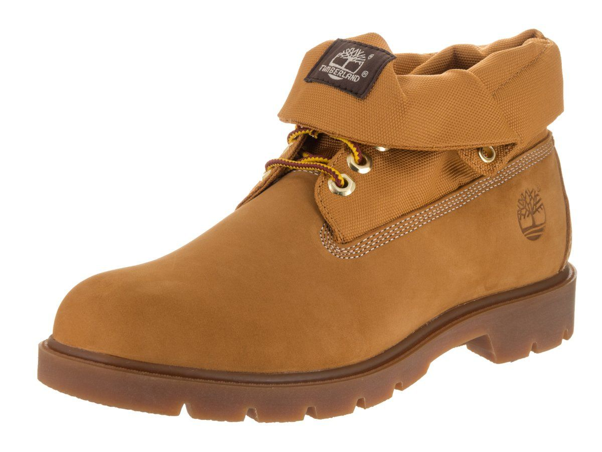 904dcc07928 Timberland Mens Basic Single Roll Top Ankle Boot Wheat Nubuck Cordura 10.5  Medium US     You can find out more details at the link of the image.
