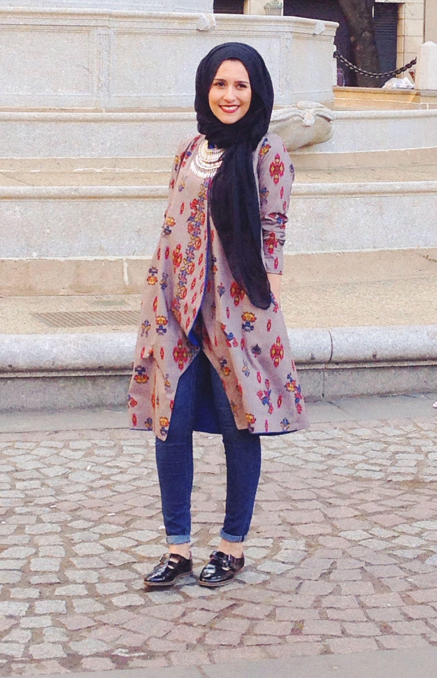 Dina Tokio Hijabi Fashion Pinterest Posts Hijabs And Outfit