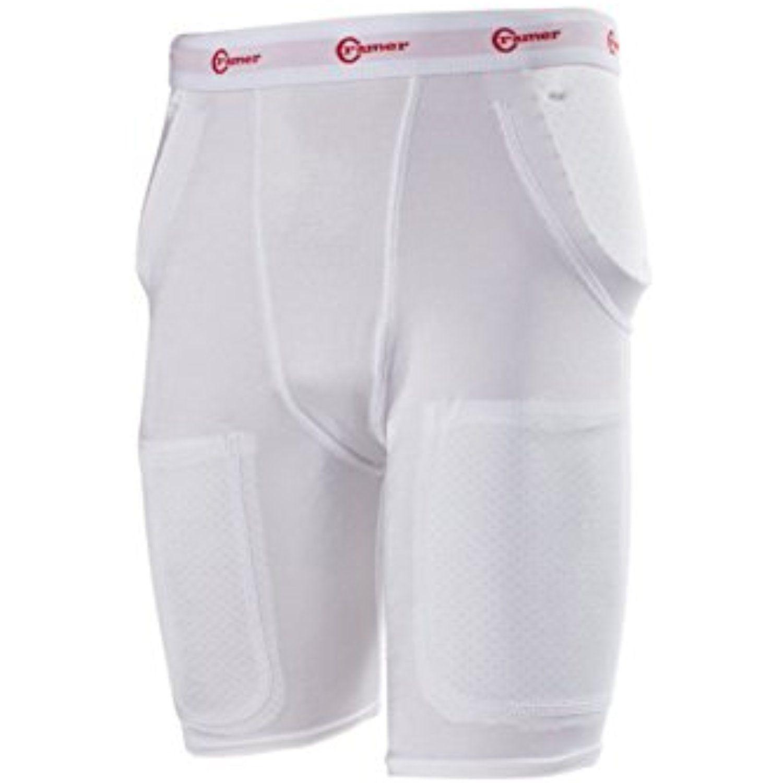 Cramer classic 3pad2pocket football girdle with hip