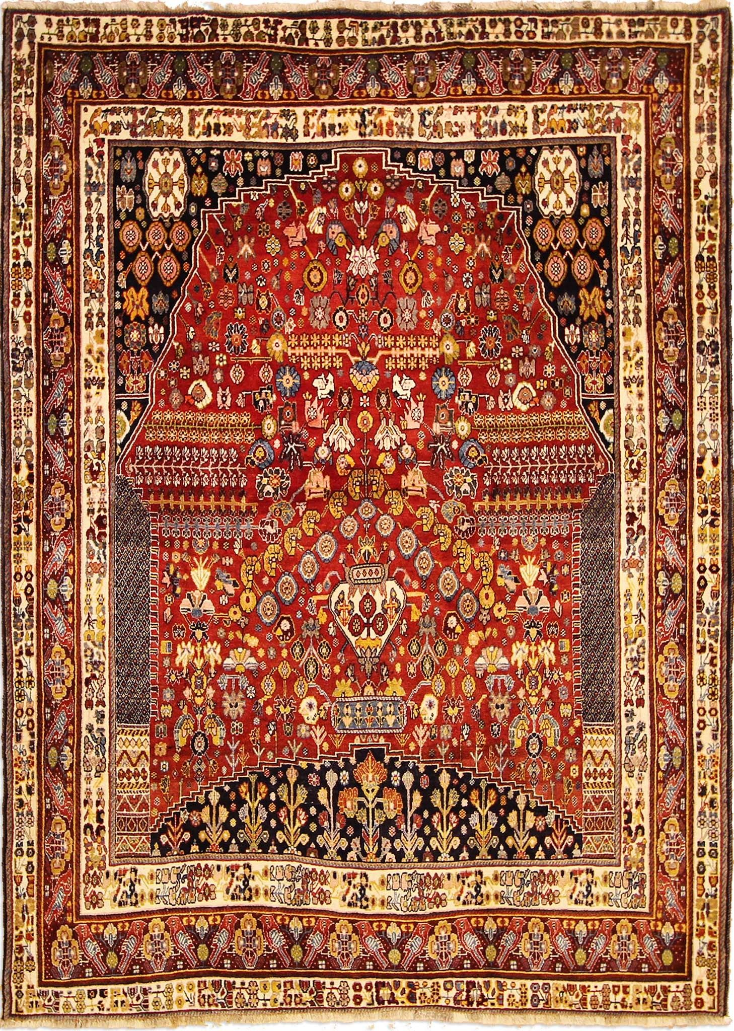 Teppichboden Orange Persian Nice Qashqai Rug 287 X 205 Cm 9 42 X 6 73 Ft Farsh