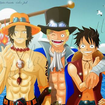 HD Wallpaper And Background Photos Of Luffy Ace Sabo For Fans One Piece Images