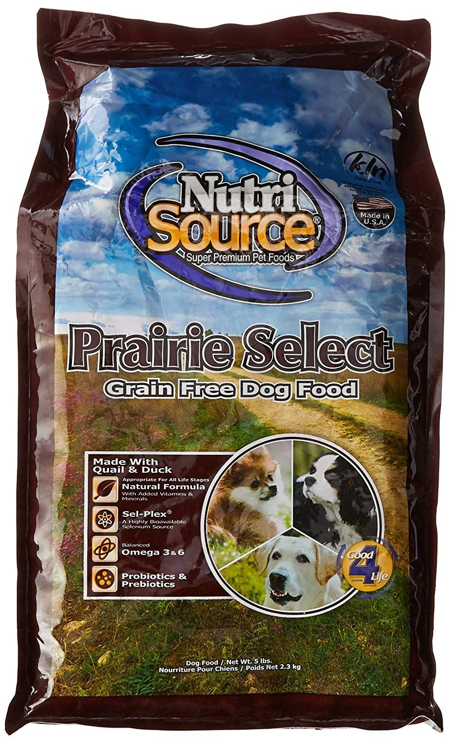 NutriSource Grain Free Prairie Select with Quail Dog Food