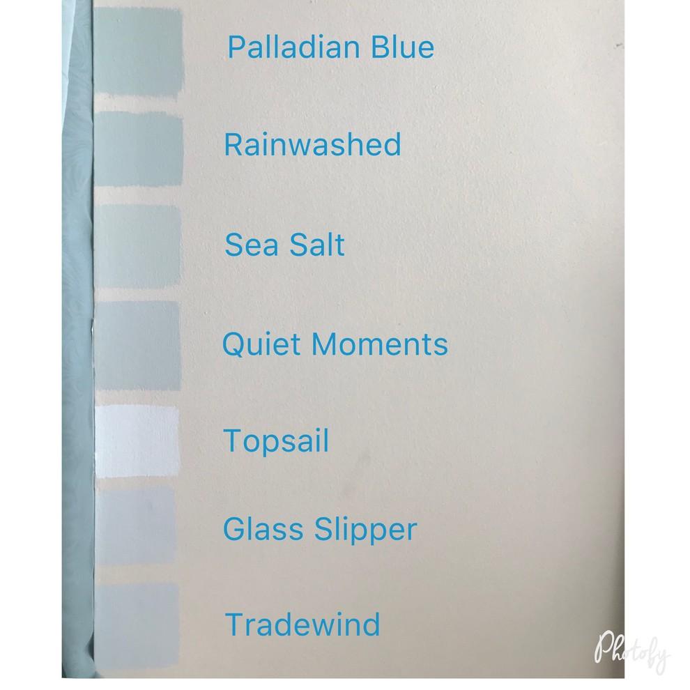 Help Can T Choose Between Bm Quiet Moments And Sw Sea Salt Quiet Moments Palladian Blue Sw Sea Salt
