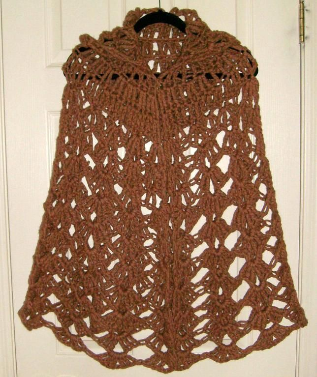 Free Irish Crochet Hooded Cloak Patterns For Women Free Crochet