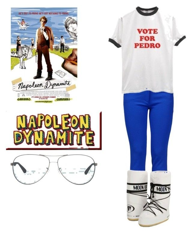 """""""Napoleon Dynamite"""" by seetherfan17 ❤ liked on Polyvore"""