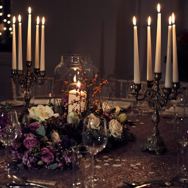 Gothic Wedding Decoration Ideas: A Wedding Made Of Pure Sparkle