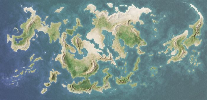 Blank Fantasy World Map DeviantArt: More Like Another Blank Fantasy Map by Ragir | RPG