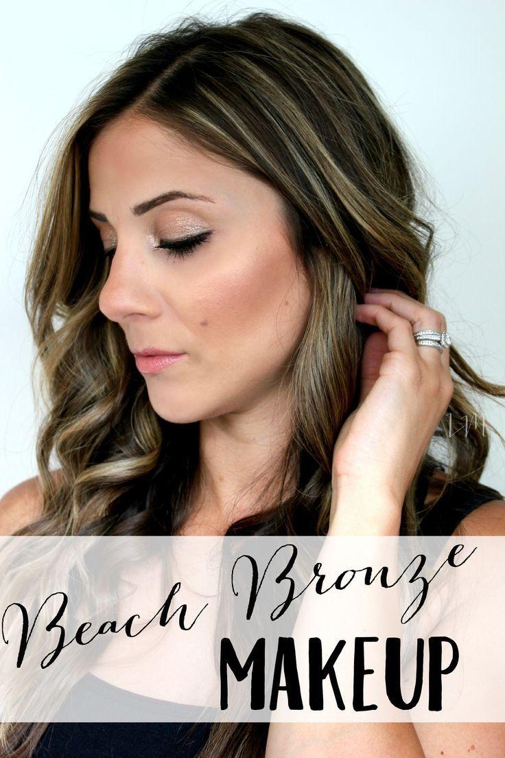 Beach Bronze Makeup and Au Naturale Review Bronze makeup