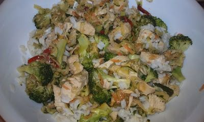 Backyard Chicken Lady: Chicken Teriyaki Stir-Fry Over Rice ~ A Quick, Delicious, Fresh Meal