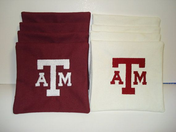 Remarkable Texas A Aggies Cornhole Bags Aca Regulation Corn Hole Bean Ibusinesslaw Wood Chair Design Ideas Ibusinesslaworg