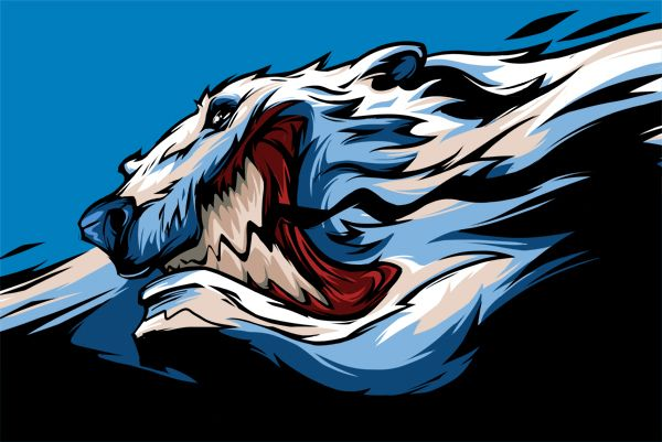 Polar Bear on Behance