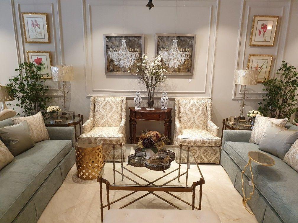 Classic Decor Chandelier Saudi Furniture Classing Interior Design Classic Living Room Gold Text Living Room Collections Classic Home Decor Home Decor