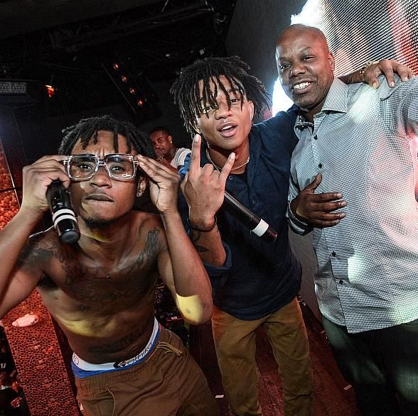 Rae Sremmurd & Too Short at Worship Thursday at TAO (Photo credit: Al Powers/Powers Imagery).