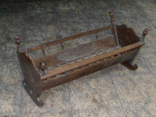 berceau en bois ancien berceau ancien pinterest. Black Bedroom Furniture Sets. Home Design Ideas