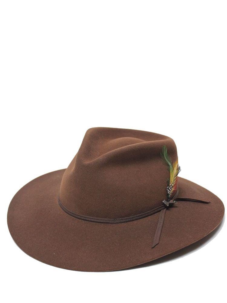 Stetson Dune Gun Club 5X Fur Felt Fedora Hat In Acorn SFDUNEB163911 ... 4d897235db2
