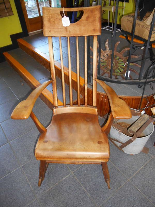 Antique Sikes Rocking Chair 299 Vintage Amp Antique