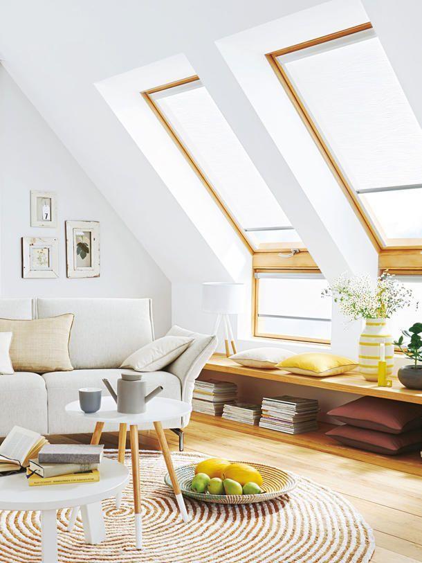 11 Einrichtungstipps für das Wohnen unterm Dach Pinterest Attic