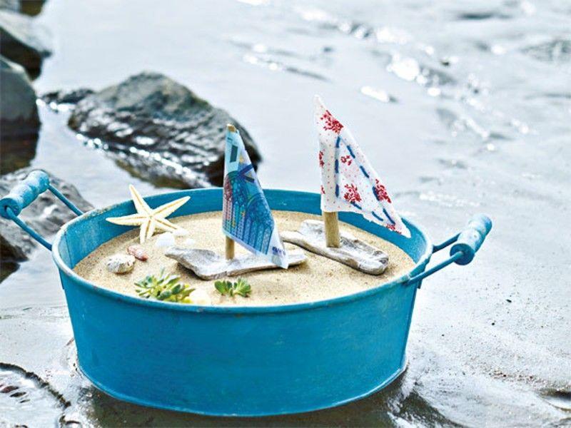 Maritime tischdeko ein tag am meer taufe oyster - Tischdeko strand ...